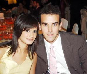 Marcela Ganem y Carlos Jiménez.