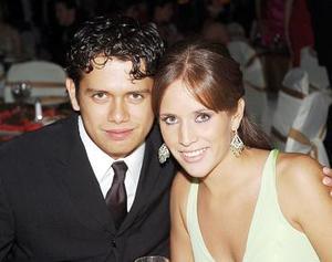 Martha Ganem y Fernando López.
