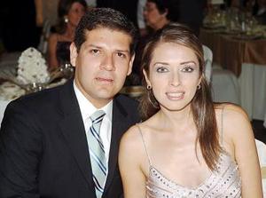 Ricardo Castro y Anahí Herrera.