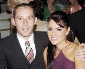 Carlos Leal y Ruth Navarro.