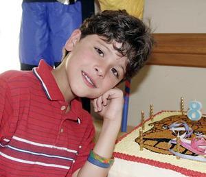 Jacob D. Nieves, captado el día que celebró su octavo cumpleaños.