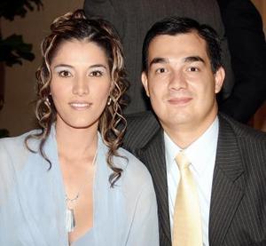 Selene de Frías y David Frías.