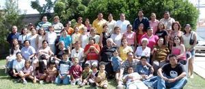 Ema Nelia Ponce López llegó de Houston, Texas y fue recibida con una fiesta organizada por las familias Santacruz Polendo, Neri Rosales y Favela.