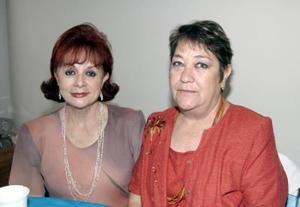 Chela de Fernández y Celia de Ortiz.