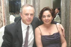 Ernesto y Maricarmen Vázquez.