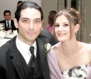 David Medina y Laura Smith.