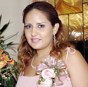 Vanessa Pérez Villezca, captada en su última despedida de soltera.
