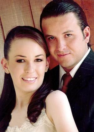 Ana Pamela Palacios y Rogelio García Vázquez.