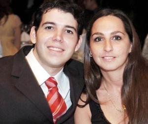 Juan Carlos Miñarro y Eliana Saife.