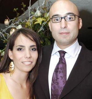 María Fernanda de Torre y Sergio Romero.