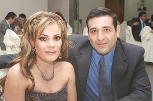 Mónica Navarro y Rolando Guerrero.