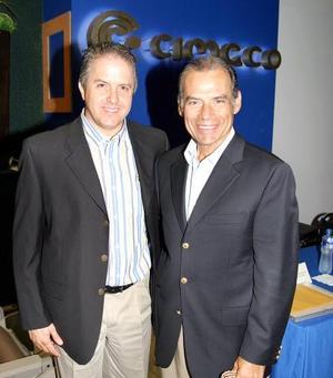 Alberto Villarreal y Roberto González Lobo.