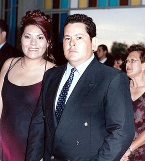 Claudia de Sánchez y Antonio Sánchez