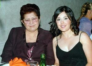 Elizabeth Villarreal y Verónica Pérez Villarrreal