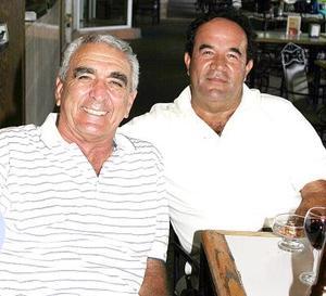 Ramón Ávila y Eduardo Villalobos