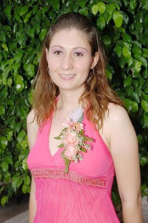 Paloma Ortiz Cervantes, captada en su ultima despedida.