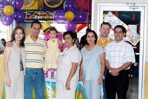 Amigos y Familiares festejaron el cumpleaños de la pequeña Sofía Ortega Chávez