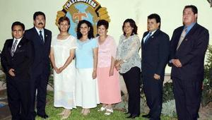 Santiago Amaya, Pedro Cañedo, Refugio Valero, Gabriela García, Rocío Larios, Teresa Escobedo, Mariano Briceño y Gilberto Larios.