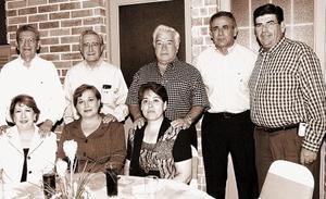 María del Carmen R. Sofía de Cuéllar, Lety de Campos, Arturo Silerio, Raúl Cuéllar, Manuel Campos, Jesús Aranzábal, Óscar Ortega.