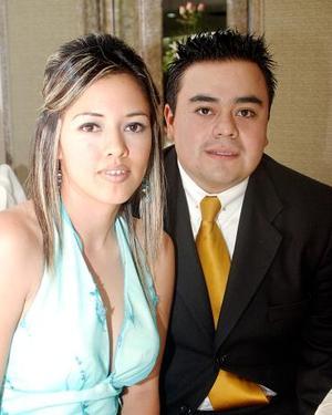 Celia Sánchez y Juan Carlos Álvarez Díaz.