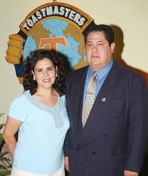 Gabriela García y Gilberto Larios