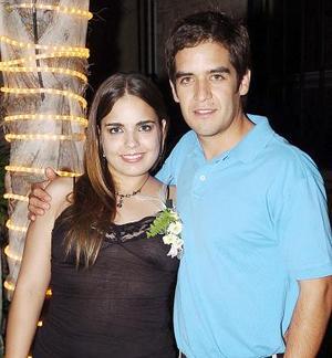Alejandra Santibáñez Harper y Manuel Pérez Durán.