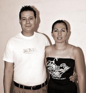 Susana Vega y Víctor Hugo Méndez.