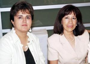 Bertha de Valenzuela y Cecilia de Astorga.