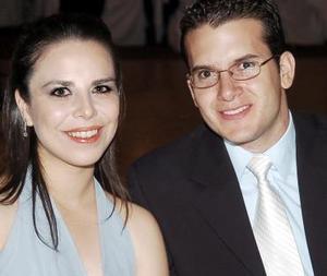 Blanca Gutiérrez Vega y Fernando Cázares Gómez.