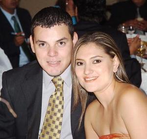 Efrén Cázares y Ale Martínez.