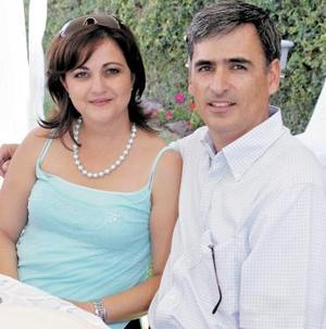 Gaby y Andrés Anaya.