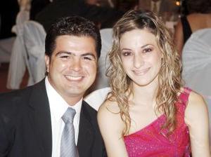 Gerardo Aranda y Elizabeth Gibert.