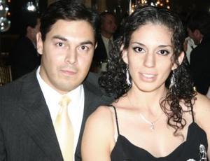 Jorge Farías y Penélope Carrera.