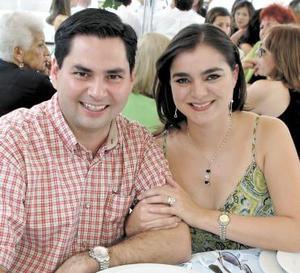 Nacho y Arlette Díaz de León.
