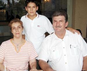 Erwin Ransom, Catalina Cepeda y Erwin Ransom Cepeda.