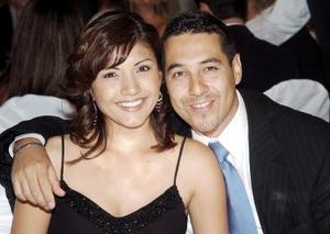 Karla de Méndez y Jorge Méndez.