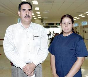 Alberto Gamboa y María Sofía Rodríguez viajaron con destino al Distrito Federal