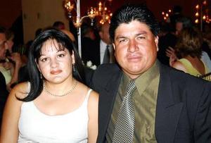 Silvia de Tovar y Javier Tovar.