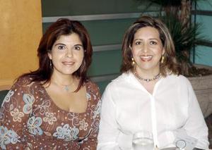 Bety Reyes y Mary Cruz Treviño.