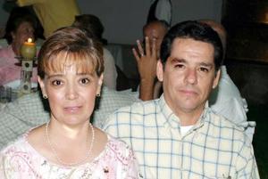 Claudia y Sergio Gutiérrez.
