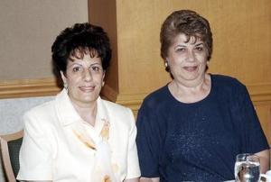 Herlinda Juan Marcos de Barragán y Lupita de Issa