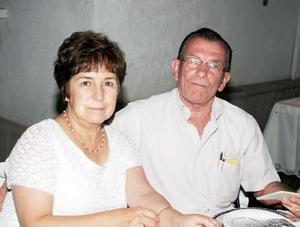 <b>19 de agosto 2005</b><p>  Socorro y Alfredo Anhert