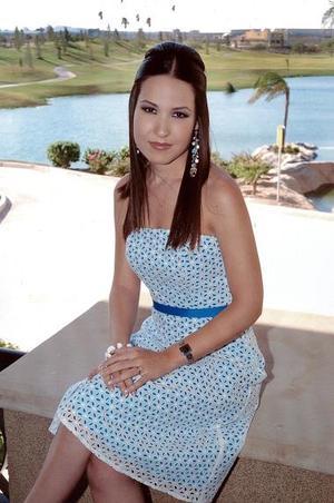 <b>18 de agosto 2005</b><p> Perla Villarreal Gutiérrez.