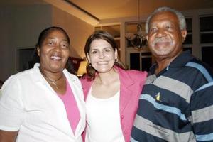 Ivette Swan, Yasmín Darwich y Malcom Swa