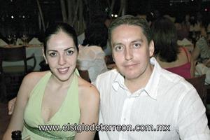 Bárbara Dueñes de González y Héctor González