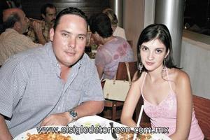 Gerardo Tinoco y Adriana Montañés