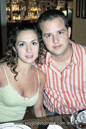 Laura García Villa y Jorge González Flores