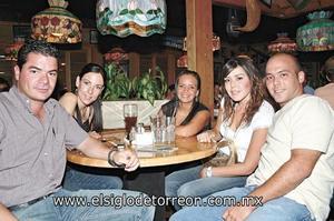 Jorge Jalife, Vero Zertuche, Marisú del Bosque, Nidia Dávila y David González