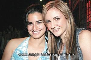 María Madero y Natalia Muñoz