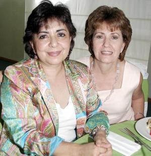 Bety de Ortiz e Irma de Borbolla.